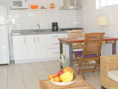 Photo for great serviced 1-bedroom apartment