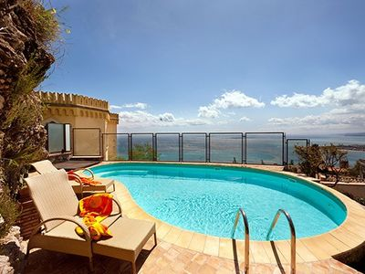 Photo for CHARMING VILLA in Taormina with Pool & Wifi. **Up to $-1462 USD off - limited time** We respond 24/7