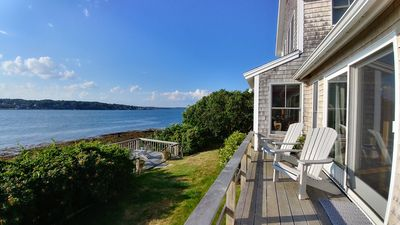 Photo for Beautiful Waterfront Home, Walkable to all Bailey Island has to Offer