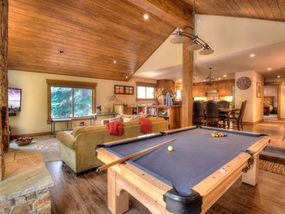 Photo for Expansive and Bright Tahoe Donner w/ Hot Tub, Smart TV, Close to Donner Ski Reso