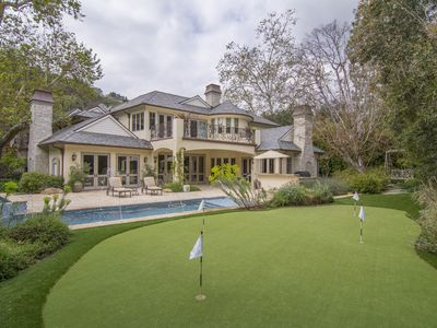 Photo for Brentwood Luxury Estate With Pool, Hot Tub, Putting Green, Movie Theater