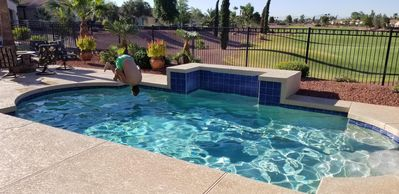 "Photo for ""Non-Smoking"" 2 Bedroom On Golf Course ~ Swimming Pool!"