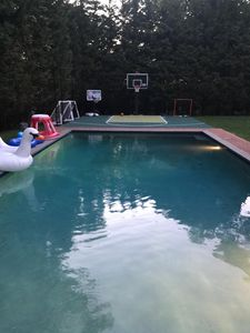 Pool and Sport Cout (Lacrosse, Basketball and Soccer)