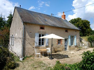 Photo for Attractive holiday home in a quiet hamlet in central France.