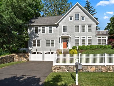 Photo for Beautiful Rowayton home in walk to town location