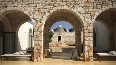 Photo for A stunning newly refurbished Trullo close to Ostuni, set amongst Olive trees