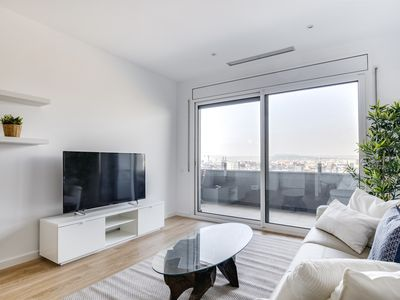 Photo for New 2bed w/pool & gym in Poble Nou, 5mins to metro