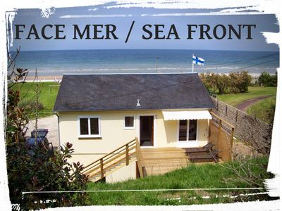 Photo for House facing the sea - Omaha Beach - EXCEPTIONAL AND ONLY!