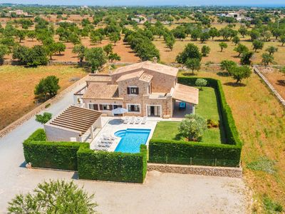 Photo for Villa Pinarons: Large Private Pool, A/C, WiFi