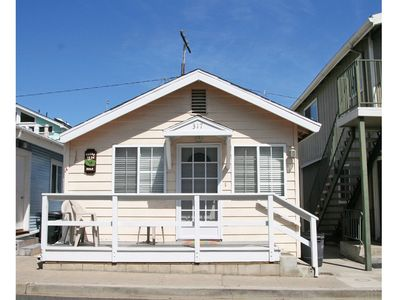 Photo for Cozy 1 Bdrm Cottage.  Minutes from the Beach, Restaurants and Shops!