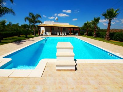 Photo for private villa with pool and garden ... football pitch ..... Free WiFi ....
