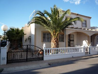 Photo for House, large roof terrace, sea view, few meters to the pool