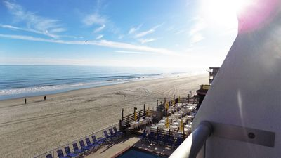 Photo for Beautiful East Coast Sunrises Oceanfront Sands Ocean Club Condo-sleeps 4