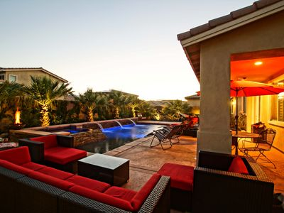 Photo for LUX GRANDÉ OASIS, Resort Style Pool/Spa, 5 BR - Coachella, StageCoach, Holidays