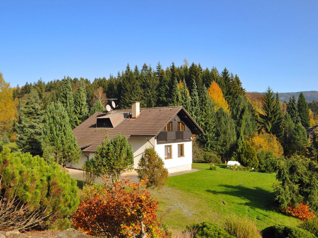 Holiday House At The Edge Of The Forest With A Beautiful
