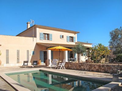 Photo for 3 bedroom Villa, sleeps 6 in es Llombards with Pool, Air Con and WiFi