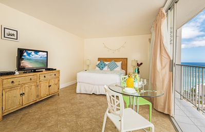 Photo for Beautiful Pacific Monarch Studio by the Beach with Sweeping Views!