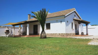 Photo for Tranquil Holiday Home Sotavento with Large Garden, Porches & Wi-Fi; Parking Available