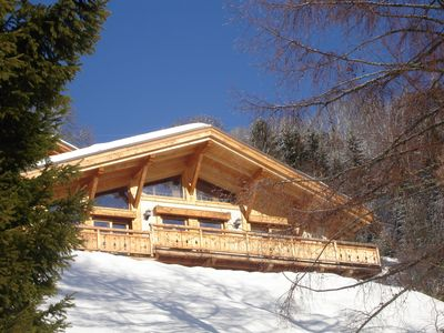 Photo for A charming chalet in Praz-sur-Arly, 5 km from Mégève and an hour from Geneva