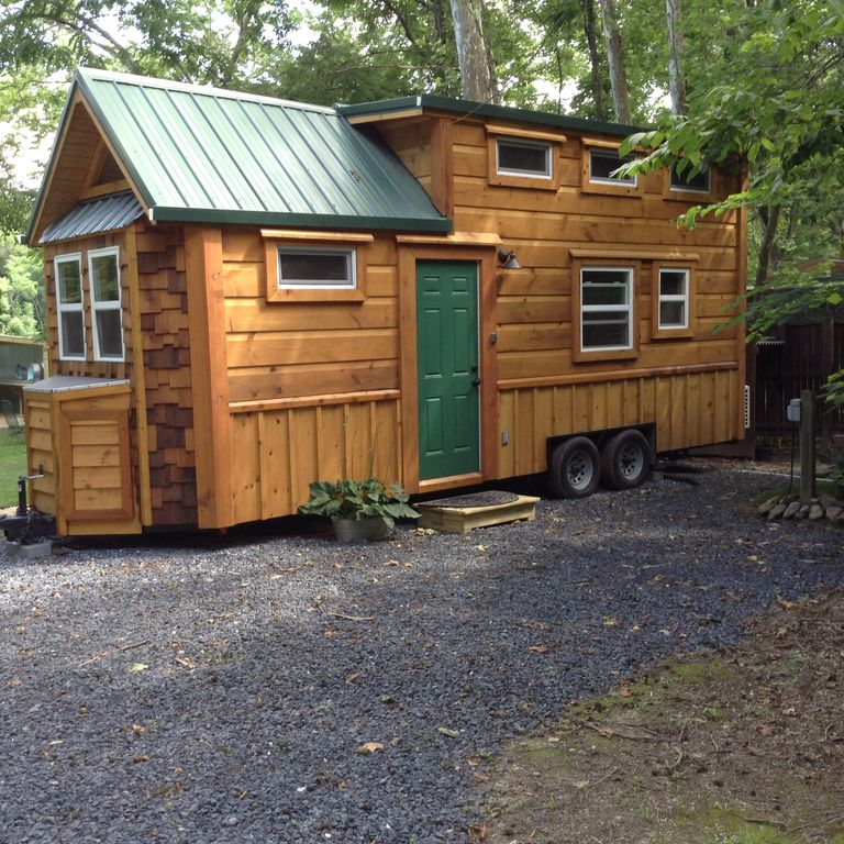 Pleasing New In 2017 Tiny House On Shenandoah River Fire Pit Dish Tv Outdoor Shelter Luray Home Interior And Landscaping Ologienasavecom