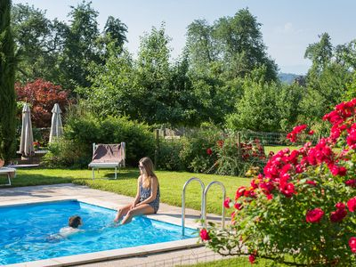 Photo for Apartment with pool, for couples and Families, www. h-high. de