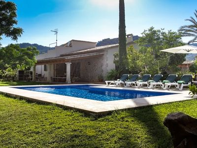 Photo for This 3-bedroom villa for up to 6 guests is located in Pollensa  and has a private swimming pool, air