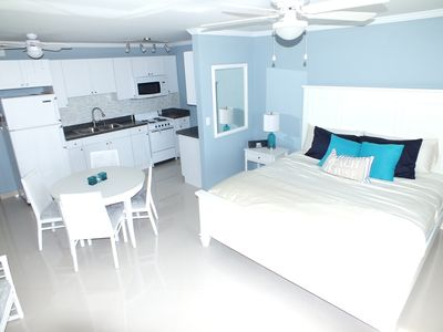 Photo for Paradise on the Beach- Newly Renovated Modern Studio