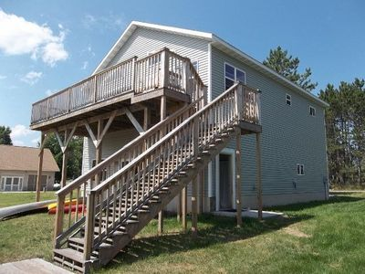 Photo for Lakefront Cottage 25 mi. from Marquette on Lake Independence/Big Bay - sleeps 9.