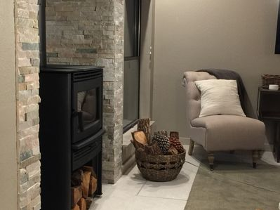 Stay warm with our new wood burning stove