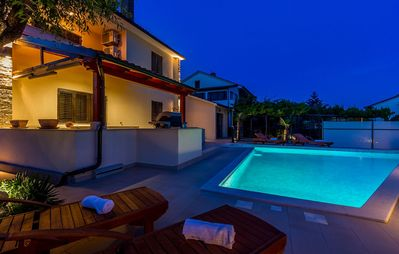Photo for Special villa with private pool, WiFi and BBQ