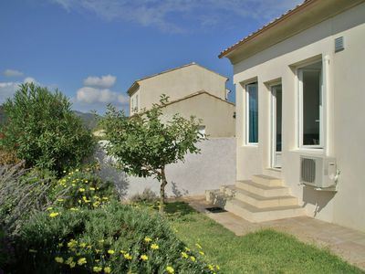 Photo for Lots of comfort, quiet location, beautiful surroundings and only 1.5 km from the beach!