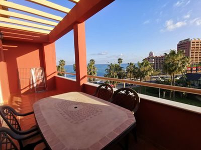 Photo for ! Apartment on the beachfront in Benalmadena Costa!  Ideal for families !!