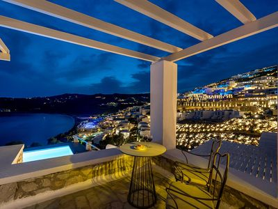 Photo for luxury Elia Beach Suite located in Elia Mykonos. Pool, Up to 3 Guests. A new ultra-exclusive Suite!