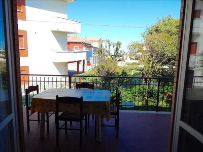 Photo for M127 - Marcelli, three-room seafront apartment fully equipped