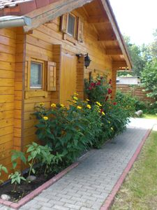 Photo for Home BerlinNah romantic log cabin