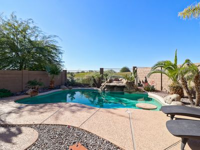 Photo for Heated Pool on Golf Course with Mountain Views, Affordable Luxury!