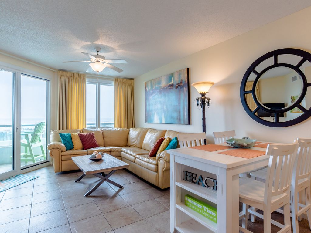 Pet Friendly Gulf Front 2 Bedroom 2 Bath Condo In Orange Beach Comfy And Clean Orange Beach
