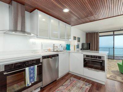 New Listing!  One bedroom oceanfront with a pool