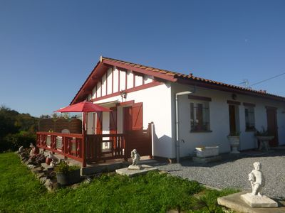 Photo for T1Bis APT + TERRACE + GARDEN IN HOUSE 15 MM MER / Montagn + 4 PEOPLE ACCEPT DOG CHAT
