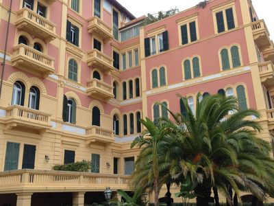 Photo for Modern apartment in a beautiful 19th-century villa in beautiful San Remo