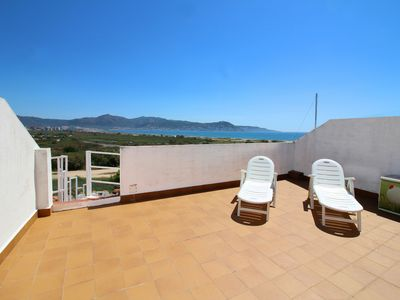 Photo for Apart-Rent- Apartment with seaview and roof terrace, with Wifi (0182)