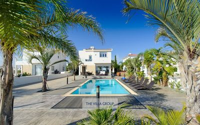 Photo for Ayia Thekla Villa, Sleeps 6 with Pool, Air Con and WiFi
