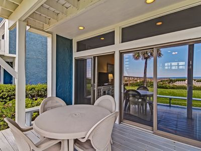 Photo for Beachfront Condo /w Amazing views from decks