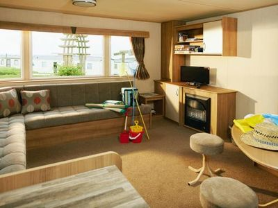 Photo for Mobile Homes Thornwick Bay Holiday Village, Flamborough  in Yorkshire - 8 persons, 3 bedrooms