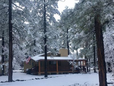 Photo for Beautiful Cabin Surrounded By tall Pines In Pinetop Az. 3Br/2Ba Sleeps Up To 10