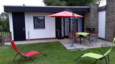Photo for NEW !!! Holiday bungalow close to the beach, preferably with a dog