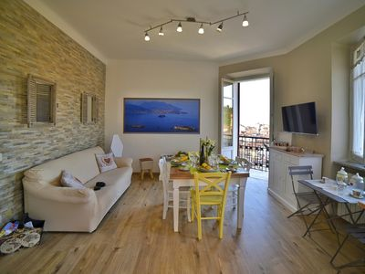 Photo for Apartment Lilla, Stresa center, lake view