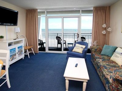 Photo for Baywatch Tower II #920, 1 BR Condo with Beautiful Ocean Front Views, Indoor Outdoor Pool, Hot Tub, Kiddie Pool and Lazy River