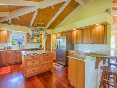Photo for Amazing Family Home in Princeville. Sweet Kitchen, 4 Bedrooms! (4536)