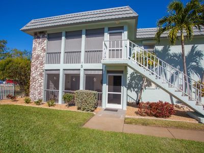 Photo for Short Walk To Beach - First Floor Condo - Communal Pool - Stores & More Nearby